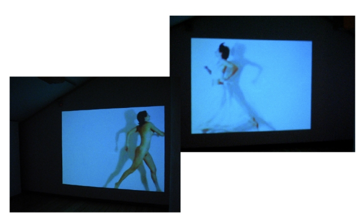 Direct I - sequences of the interactive video installation