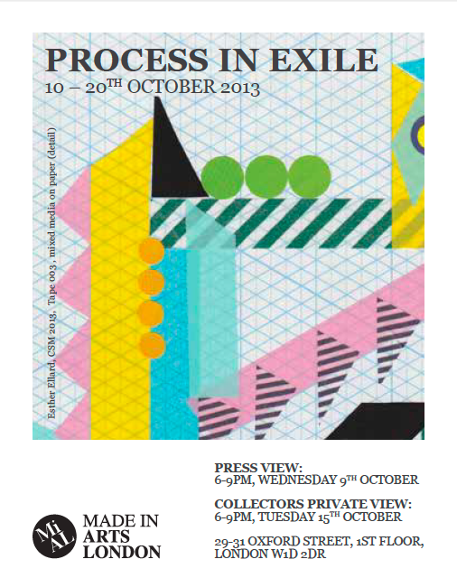 Process in Exile , group exhibition